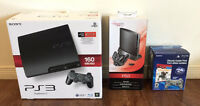 PS3 Bundle - 160 GB - With games