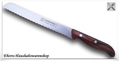 Sehr schönes Brotmesser aus Solingen Wellenschliff Holzgriff. - Schönes Brot