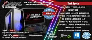 Insane I7 / GTX1060 6GB / SSD / 8GB / Gaming PC