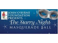 The Starry Night Masquerade Ball- For The John O'Byrne Foundation