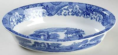 Spode BLUE ITALIAN (OVEN TO TABLE) 12 1/2