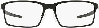 Oakley Men's OX3232 Base Plane Rectangular Metal Eyeglass Fr