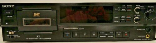 Sony DTC-A7 Digital Audio Tape Deck - FUNCTIONAL (5B2.31.AU)