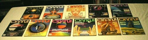 (11) OMNI Science Fiction Magazines [1984- 9 Issues, 1988- 2] FREE PRIORITY SHIP