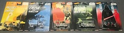 *New* Hot Wheels Pop Culture Star Wars 5-pack Free Shipping -2C