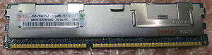 Dell PowerEdge 8Gb Server memory PC3-10600R ECC 2Rx4r for R610 R710 R815 R910