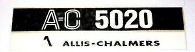 Allis Chalmers 5020 Hood Decal Set