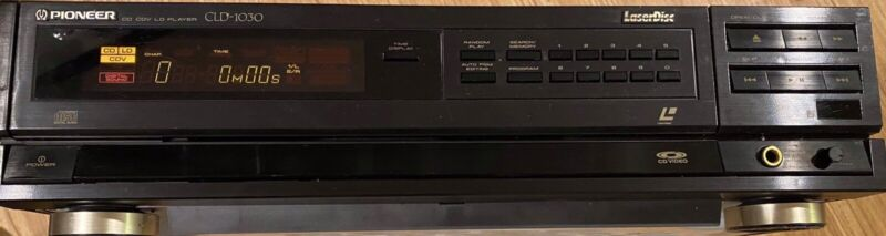 PIONEER CLD-1030 Laser Disc Player