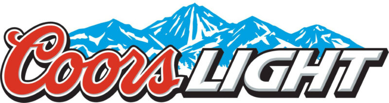 "COORS LIGHT Vinyl Sticker Decal 6"" (full color)"
