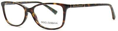 Dolce&Gabbana Damen Herren Brillenfassung DG3219 502 55mm havana braun 24 32