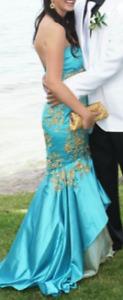 Magnifique robe turquoise