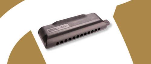 Hohner CX12 Chromatic Harmonica - Key C