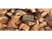 Air Dried Wood Fuel Logs ready to Burn bagged or Tipper Delivered.