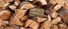 Logs soft firewood all dry and ready to burn winter fuel good quality