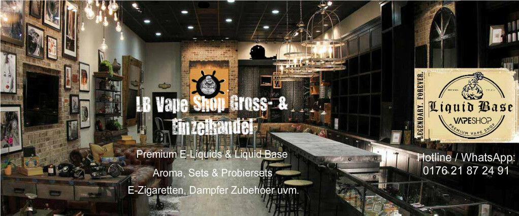 LB Vape Shop Premium Liquids