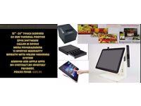 Hospitality Touchscreen EPOS POS Cash Register Till System
