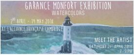 Exhibition: Watercolors by Garance Monfort