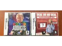 2 NINTENDO DS GAMES - AS NEW - £5 FOR BOTH