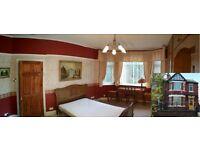 Large stunning Victorian double bedroom for rent. Podwójny pokój do wynajęcia.