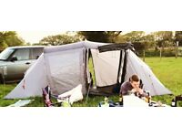 Urban escape 4 man tent. good condtion + plus new poles