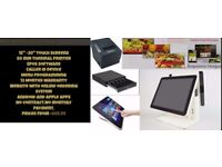 New Touchscreen Retail and Hospitality EPOS POS Cash Register Till System