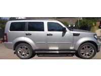 Dodge, NITRO SXT, 2.8 4x4,Estate,Auto,2008,Silver,36,000 miles 5 doors