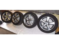 !! CLEARANCE !! Honda Civic 16'' Genuine ALLOY WHEELS AND TYRES 205/55/16 5x114.3