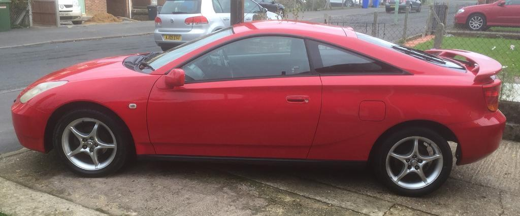 LOOK!! Toyota Celica 1.8 VVTi (P/ex considered) Final Reduction £500 WOW!!