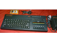 Vintage Computer Sinclair ZX Spectrum +2 128K with Charger - in working order