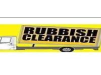 Rubbish removals house clearance disposals tip run builders garden waste furniture cleared