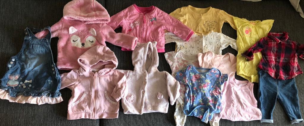 d7f6cb336fa3 BABY GIRL CLOTHES BUNDLE 3-6 Months