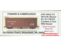 LMH Funaro F/&C 220 Sn2 Sn3  SANDY RIVER RANGELEY LAKES Boxcar SR/&RL SRRL 121-145