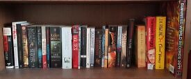 Novels including Lord of the Rings and Game of Thrones.