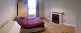 Bright Double Bedroom to Rent, in Top Floor Flat near the Meadows