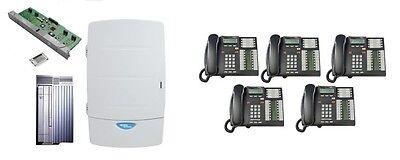 Nortel Norstar Phone System Cics 4x16 Callpilot 100 10 Mailboxes 5 T7316e Sets