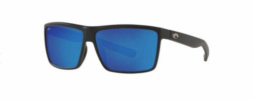 NEW Costa Del Mar Riconcito Black Frame w/ Blue Mirror 580P Lens RIC11OBMP