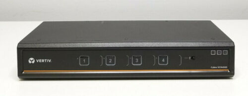 VERTIV Cybex SC945XD SC 4-Port Dual-head DVI-I + DP Secure KVM + DPP