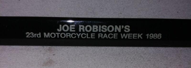 RARE ROBISON Harley Davidson 1986 Bike Week pen FXR FXE FLT AMF XR-750 Panhead