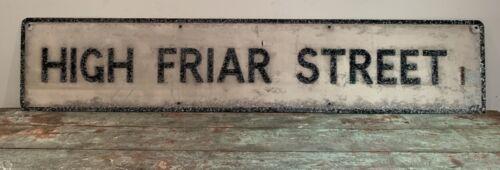 VINTAGE METAL STREET SIGN