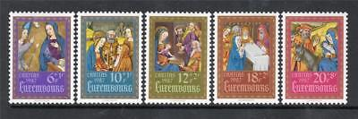 LUXEMBOURG MNH 1987 SG1214-1218 NATIONAL WELFARE FUND