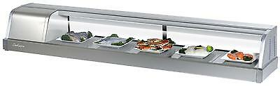 Turbo Air 70 Refrigerated Sushi Display Case Stainless Sakura-70