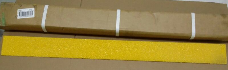 "CONSAV 271818 SAFESTEP STEP EDGE SAFETY YELLOW 32X2.75X1.25"" NEW 6 PCS"