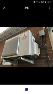 Mitsubishi INVERTOR  Ductless mini split.