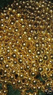5 DOZEN (60) GOLD MARDI GRAS BEADS NECKLACES-PARTY FAVORS-FREE SHIPPING!](Wholesale Mardi Gras Beads)