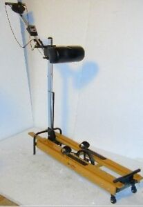 Nordic track ski machine exerciser