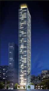 Brand new 2-bedroom condo, For Rent, 42 Charles St., (Yorkville)