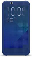 Dots View Sillicon Gel Flip Phone Case Cover for HTC One 2 M8