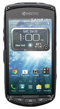 Kyocera Brigadier - 16GB - Black (Verizon) Smartphone
