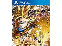 Dragonball fighterz. Ps4 excellent condition