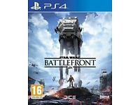 PS4 - Starwars Battlefront - Like new!